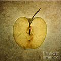 Apple textured Poster by Bernard Jaubert
