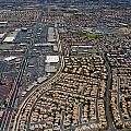 Arial View of Las Vegas Print by Susan Stone