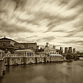 Art Museum Time Exposer Print by JACK PAOLINI