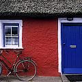 Askeaton, Co Limerick, Ireland, Bicycle Print by The Irish Image Collection