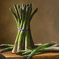 Asparagus  Poster by Robert Papp