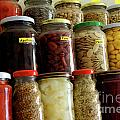 Assorted Spices Print by Carlos Caetano