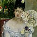 At The Ball Poster by Berthe Morisot