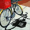 At the Grocery Poster by Linda Apple