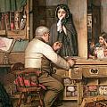 At the Pawnbroker Print by Thomas Reynolds Lamont
