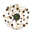 Atomic Structure, Artwork Print by Crown Copyrighthealth & Safety Laboratory