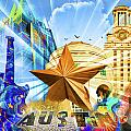 ATX Montage Poster by Andrew Nourse