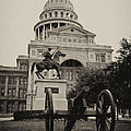 Austin Capitol Print by Lisa  Spencer
