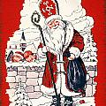 AUSTRIAN CHRISTMAS CARD Poster by Granger