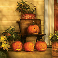 Autumn - Pumpkin - The Jolly Bunch Poster by Mike Savad
