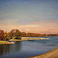 Autumn at Lake Graham 2 Print by Jai Johnson