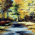 AUTUMN COLORS Print by PAUL WALSH