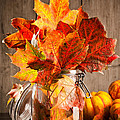 Autumn Leaves Still Life Print by Christopher and Amanda Elwell