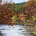 Autumn River Print by Jack Skinner