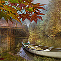 Autumn Souvenirs Print by Debra and Dave Vanderlaan