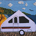 A'van by the Sea Poster by Patricia Tapping