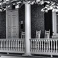 Avenel Porch - Bedford - Virginia Poster by Steve Hurt