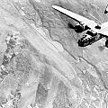 B-25 Bomber Over Germany Print by War Is Hell Store