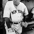 Babe Ruth In The New York Yankees Print by Everett