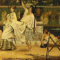 Bacchanal Print by Sir Lawrence Alma-Tadema