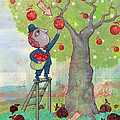 Bad apples good apples Print by Dennis Wunsch