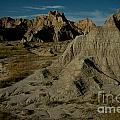 Badlands by Moonlight Print by Chris  Brewington Photography LLC