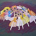 Ballet dancers Poster by Rae  Smith PSC