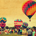 Balloon Rally Print by Kathy Jennings