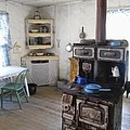 BANNACK GHOST TOWN  KITCHEN and STOVE - MONTANA TERRITORY Poster by Daniel Hagerman