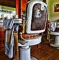 Barber - Barber Chair Print by Paul Ward