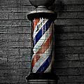 Barber Pole Blues  Poster by Jerry Cordeiro