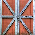 Barn Door 3 Print by Dustin K Ryan