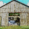 Barn Treasures Poster by Cheryl Young
