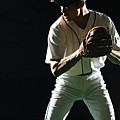 Baseball Pitcher About To Pitch, Close-up Poster by PM Images