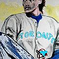 Baseball Player Poster by First Star Art