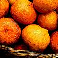 Basket of Oranges by Darian Day Print by Olden Mexico