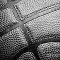 Basketball -Black and White Print by Ben Haslam