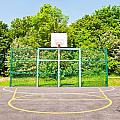 Basketball court Poster by Tom Gowanlock