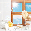 Bathroom interior still life Poster by Christopher and Amanda Elwell