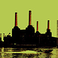 Battersea Power Station London Poster by Jasna Buncic