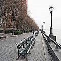 Battery Park Poster by Michael Peychich