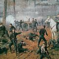 Battle of Shiloh Poster by T C Lindsay