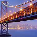 Bay Area Bridge Poster by Aaron Reed Photography