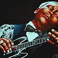 BB King of the Blues Poster by Richard Klingbeil