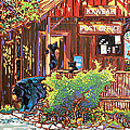 Bear Post Print by Nadi Spencer
