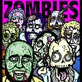 Bearded Zombies Group Photo Poster by Christopher Capozzi