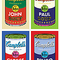 Beatles Soup Poster by Gary Grayson
