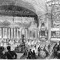 BEAUX ARTS BALL, 1861 Poster by Granger