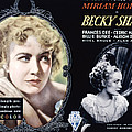 Becky Sharp, Miriam Hopkins, Cedric Poster by Everett