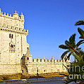 Belem Tower Poster by Carlos Caetano